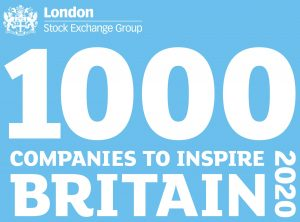London Stock Exchange Group 1000 Companies to Inspire Britain logo